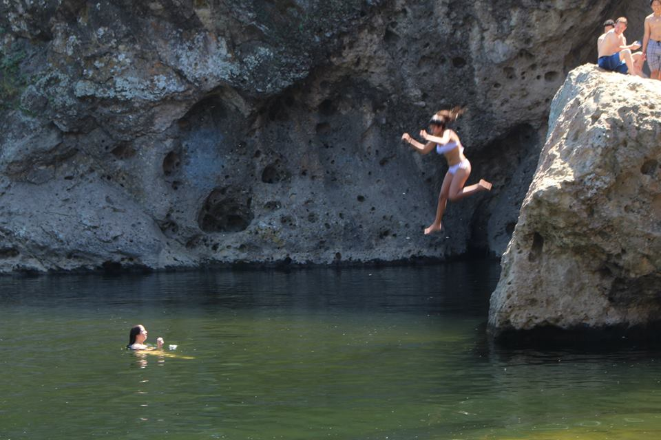 How i crossed cliff diving off my bucket list hs insider - Highest cliff dive ever ...