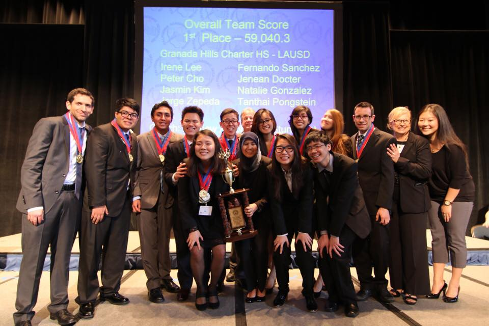 61114ea83 Granada Hills  academic decathlon team wins state competition and ...