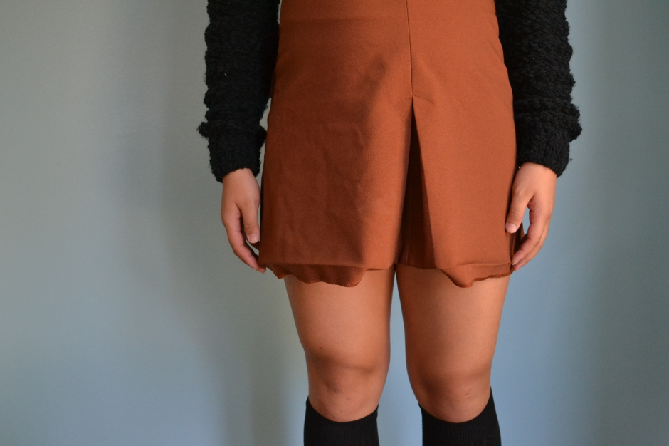 Schools often implement dress codes. Many of these dress codes determine whether or not certain articles of clothing are appropriate for school. For example, many schools consider short skirts as a violation of their dress code policy.