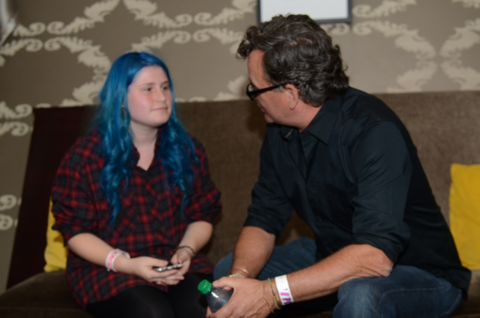 Jessica Carreon interviews Kevin Lyman, founder of Vans Warped Tours. Photograph by Julian Castro.