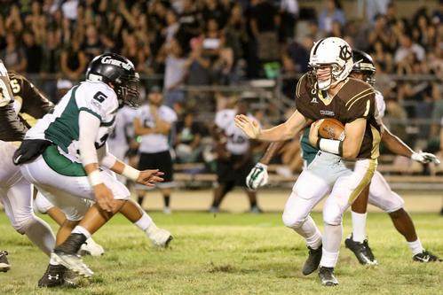 A fierce battle between rival schools