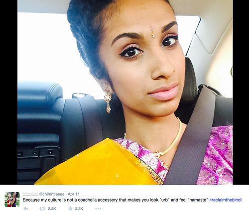 #ReclaimTheBindhi posts on Twitter