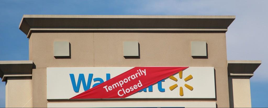 Pico Rivera Walmart temporarily closed.