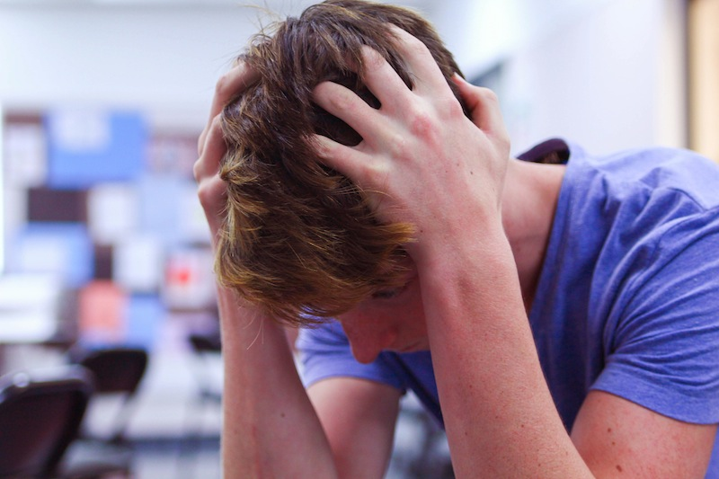stress anxiety 800px Juniors opt out of new Common Core test, threatening district funding