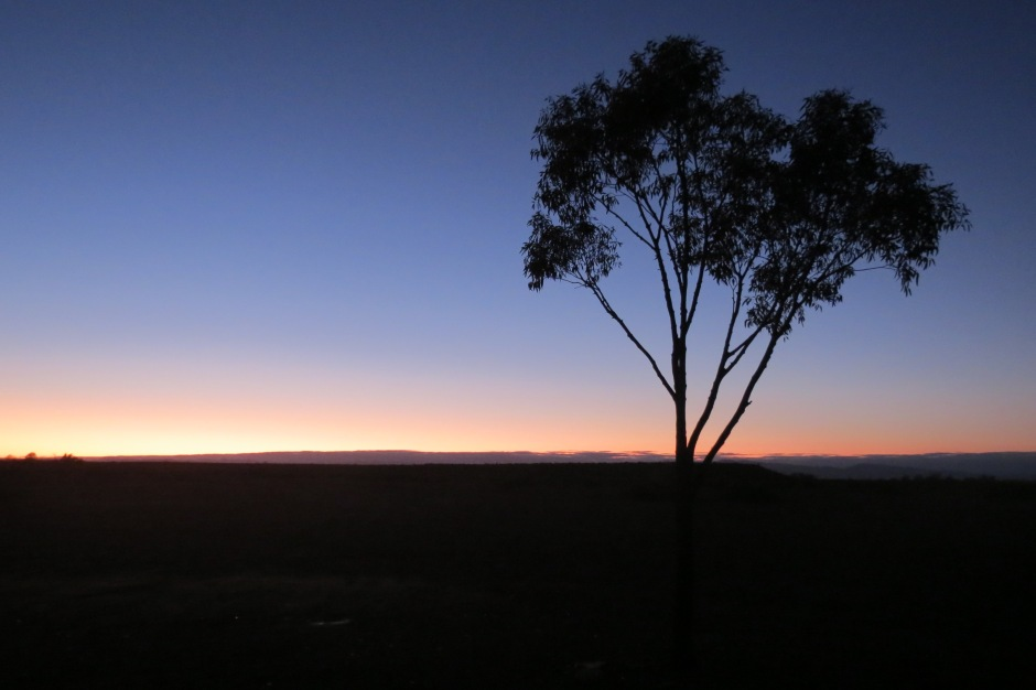 A sunrise in the Australian Outback is as beautiful as the landscape itself.
