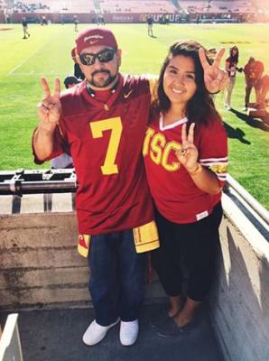 Jose Berrios and his eldest daughter, Jennifer Elizabeth Berrios.