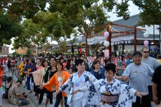 Obon dancers | photos by Emma Anderson