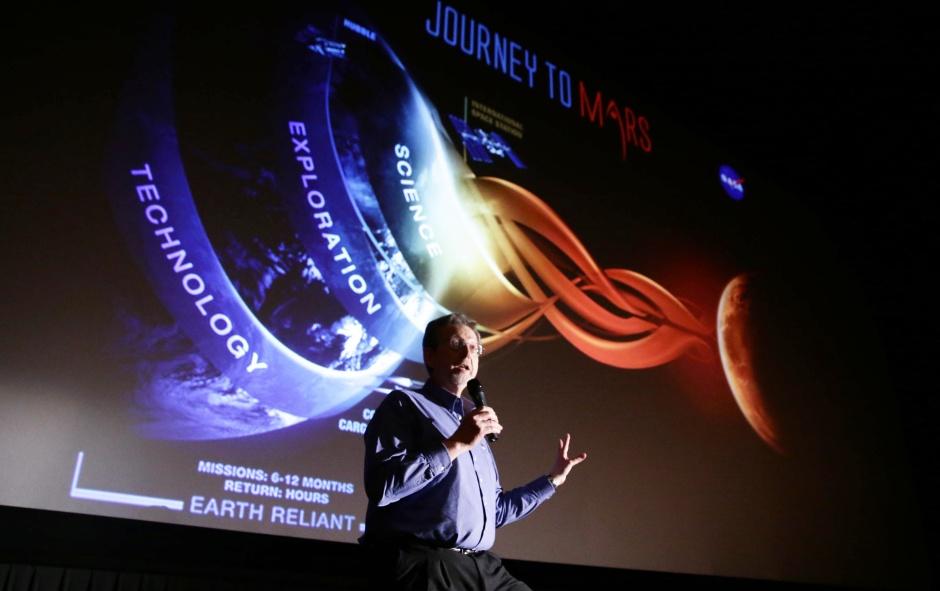 Dr. Jim Green at the Twentieth Century Fox 'The Martian' Trailer Launch Event. (Photo by Eric Charbonneau/Invision for Twentieth Century Fox/AP Images)