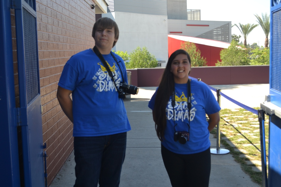 Students were encouraged to wear their San Dimas gear in support for their team for the upcoming game.