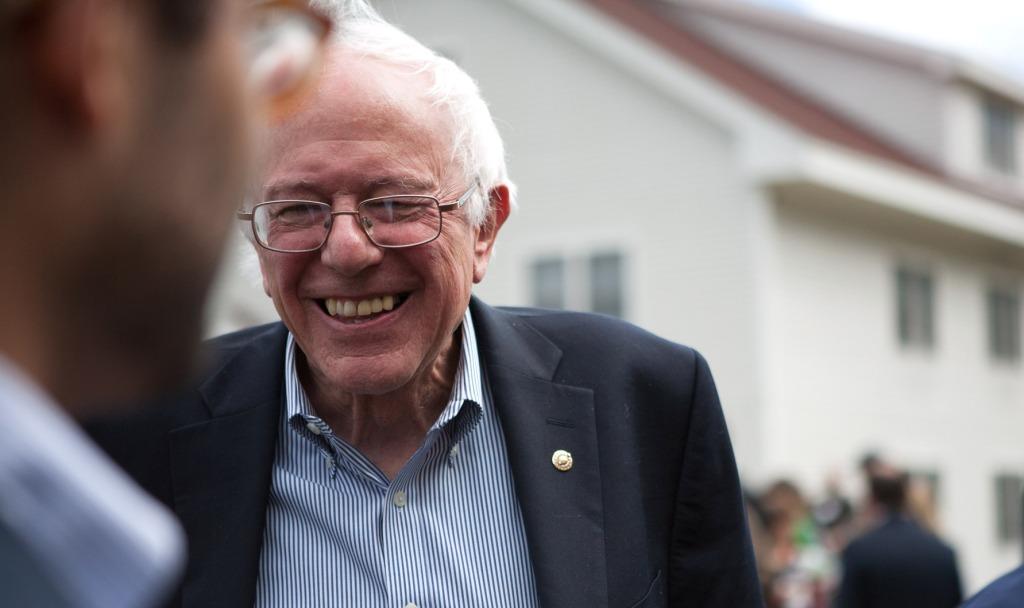 Portrait of Bernie Sanders. Photo courtesy of Wikimedia Commons.