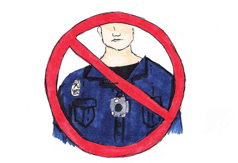 Opinion writer CJ Haberbush believes that police body cameras in school will lead to infringements of students' Fourth Amendment rights.