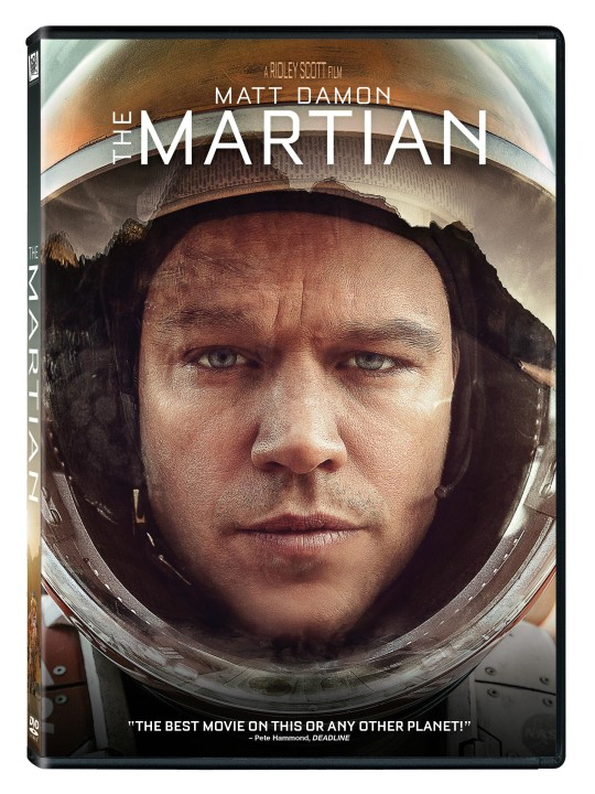 The Martian DVD image