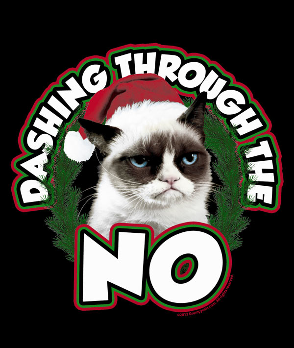 Grumpy cat's Christmas