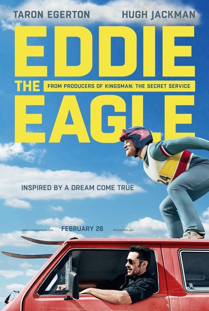 eddie eagle movie poster 690x1024 Eddie the Eagle Review: Exhilarating, inspiring breath of fresh air