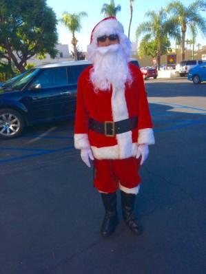 seccurity gaurd santa