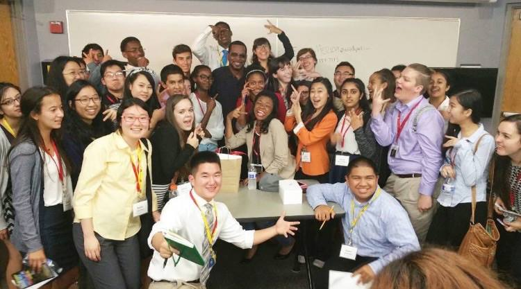 11817016 855239864560075 708467248233838495 n MSNBC anchor Richard Lui mentors students at Journalism Camp (JCamp)