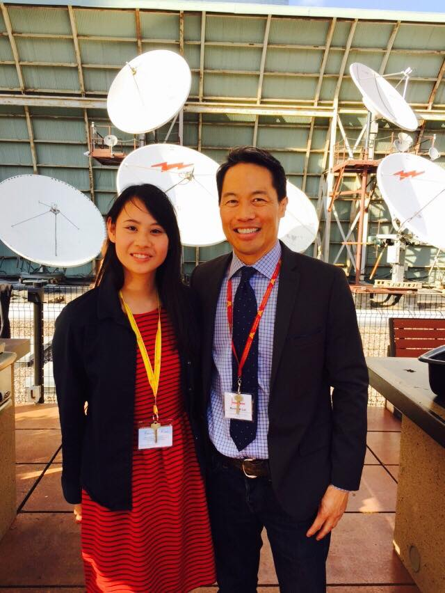 11846687 855239441226784 7077817290643935784 n MSNBC anchor Richard Lui mentors students at Journalism Camp (JCamp)