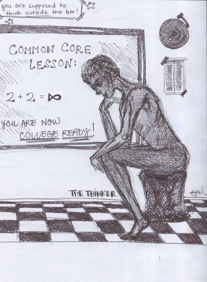 img 8317 Opinion: Common Core: The rotten apple