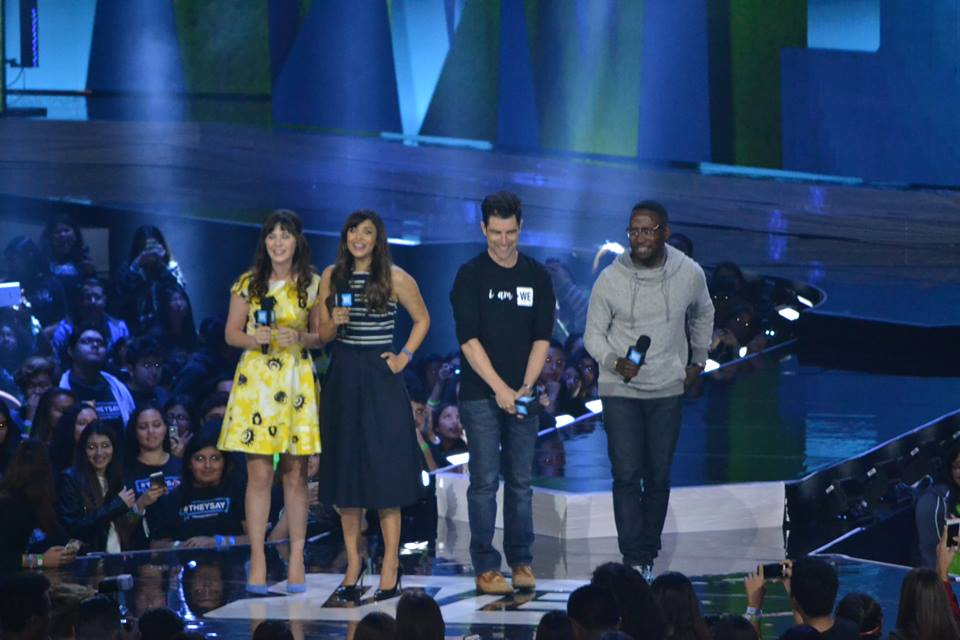 Zooey Deschanel, Hannah Simone, Max Greenfield and Lamorne Morris (Cast of New Girl) speaking about what it means to be family