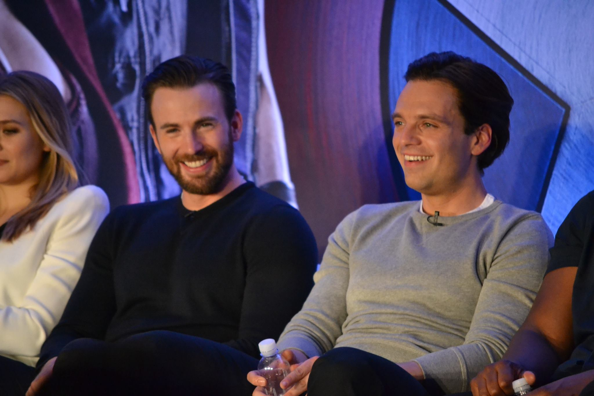 12998313 988488314568562 3035498227912017229 o Six best moments of #TeamCap Civil War press conference: Smack talking Team Iron Man, Stucky, and more
