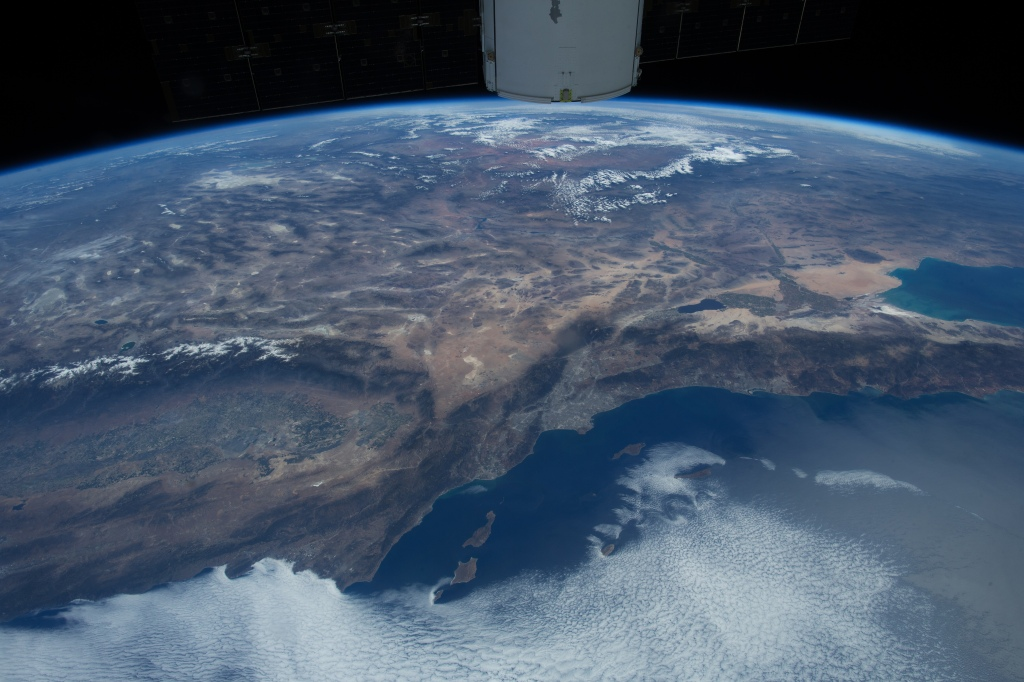 An astronaut's breathtaking view of Los Angeles from the International Space Station as witnessed in the new IMAX® film. © 2016 IMAX Corporation - Photo courtesy of NASA