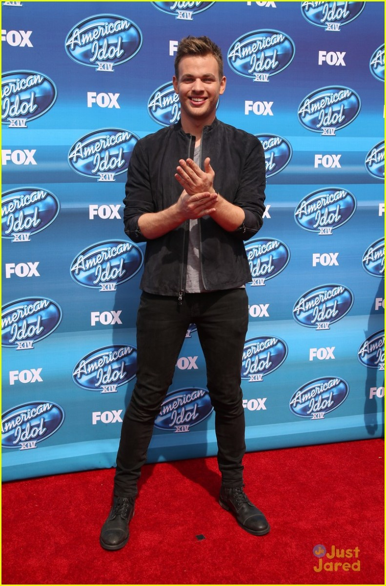 2015 American Idol XIV Grand Finale at the Dolby Theatre - Arrivals Featuring: Clark Beckham Where: Beverly Hills, California, United States When: 13 May 2015 Credit: FayesVision/WENN.com