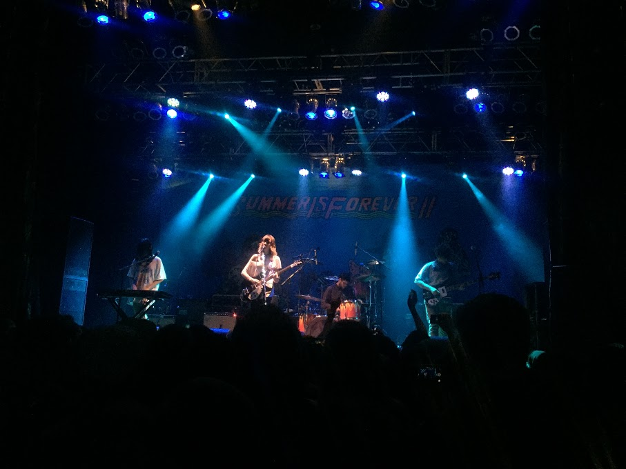 Cherry Glazerr performing at the Anaheim House of Blues