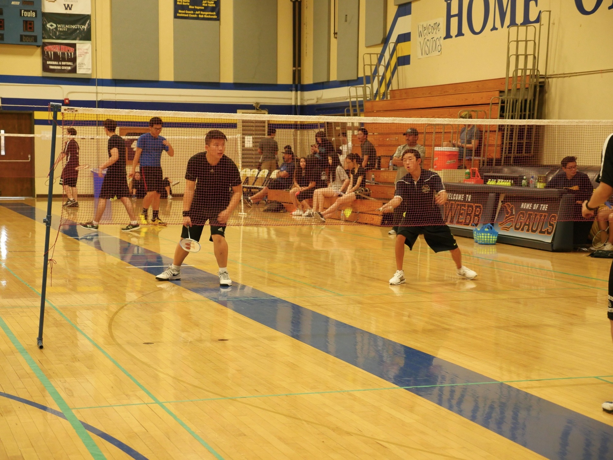 Chino Hills High School's Inaugural Badminton Team