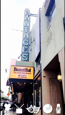 Beautiful is running at the Hollywood Pantages Theatre until July 17