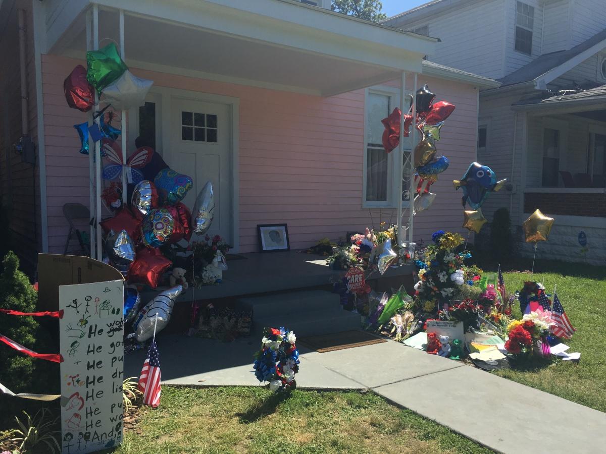 Muhammad Ali's childhood home in Louisville, Kentucky