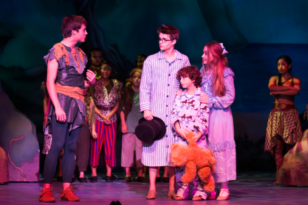 PETER PAN AND TINKER BELL A PIRATES CHRISTMAS - KEVIN QUINN, SABRINA CARPENTER, COREY FOGELMANIS, AUGUST MATURO (Pasadena Playhouse)