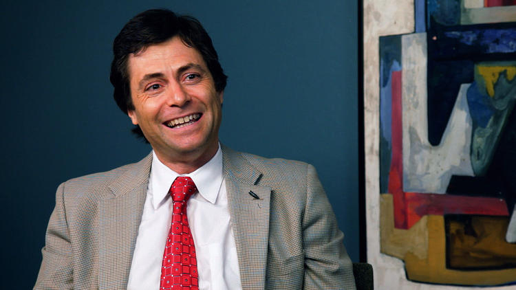 "Max Tegmark, a cosmologist at the Massachusetts Institute of Technology, appears in ""The Principle."" He told Popular Science that scientists were ""tricked"" by filmmakers with ""a hidden agenda."" (Rocky Mountain Pictures)"