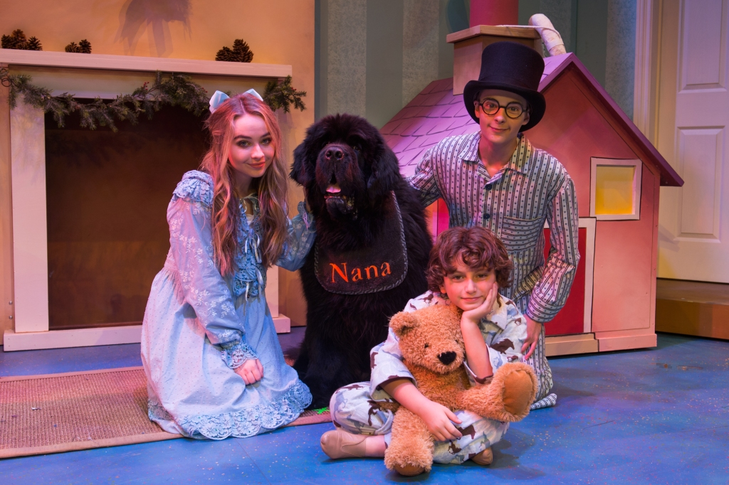 PETER PAN AND TINKER BELL A PIRATES CHRISTMAS - SABRINA CARPENTER, COREY FOGELMANIS, AND AUGUST MATURO (Pasadena Playhouse)