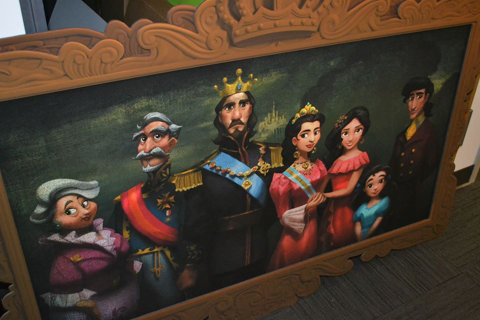 A portrait of Elena's family found in the Production Offices (Cassandra Hsiao)