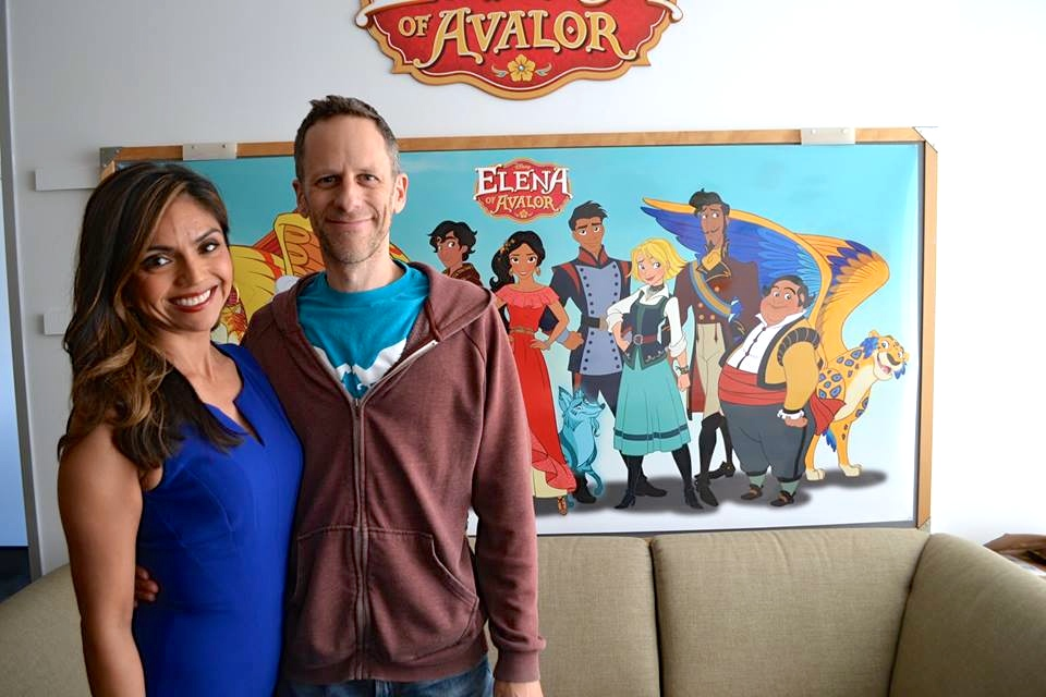 Story Editor Silvia Olivas and Creator/Executive Producer Craig Gerber