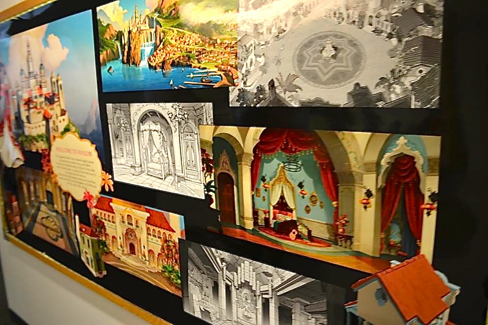 Background designs at the Production Offices (Cassandra Hsiao)