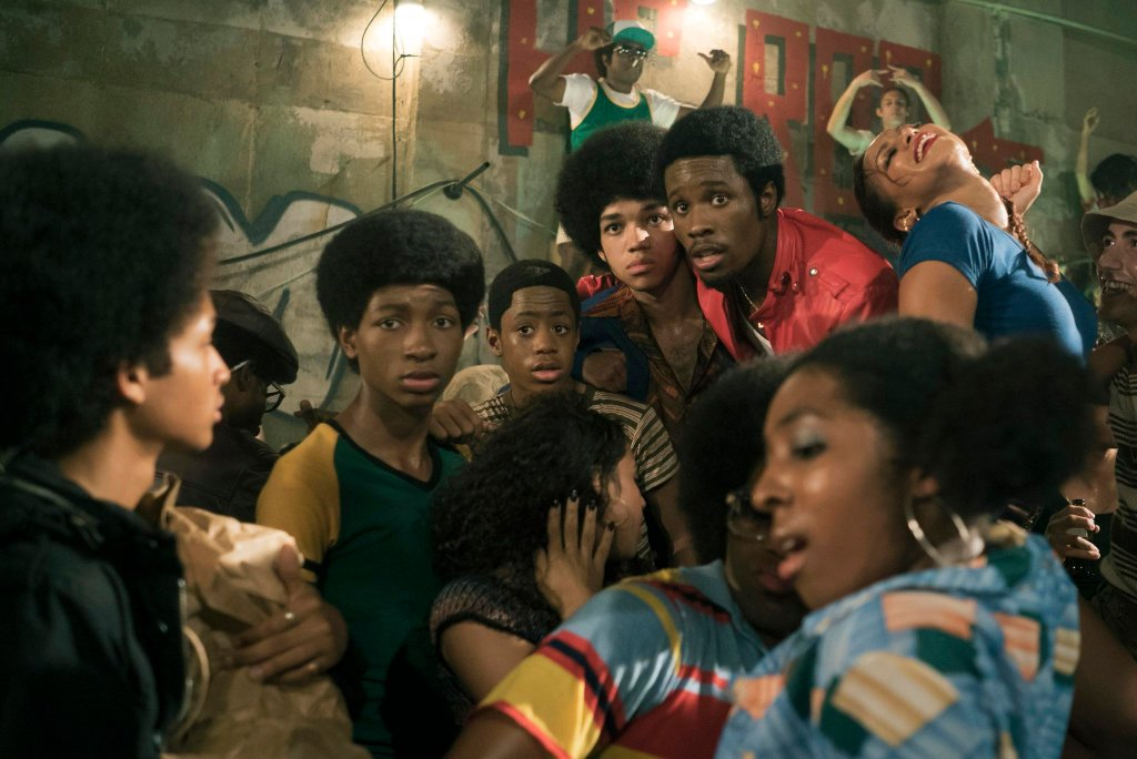 A still from The Get Down. Netflix