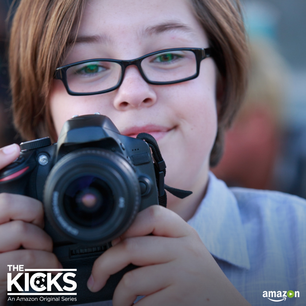 Gabe Eggerling as Bailey in The Kicks (Photo Credit: Amazon)