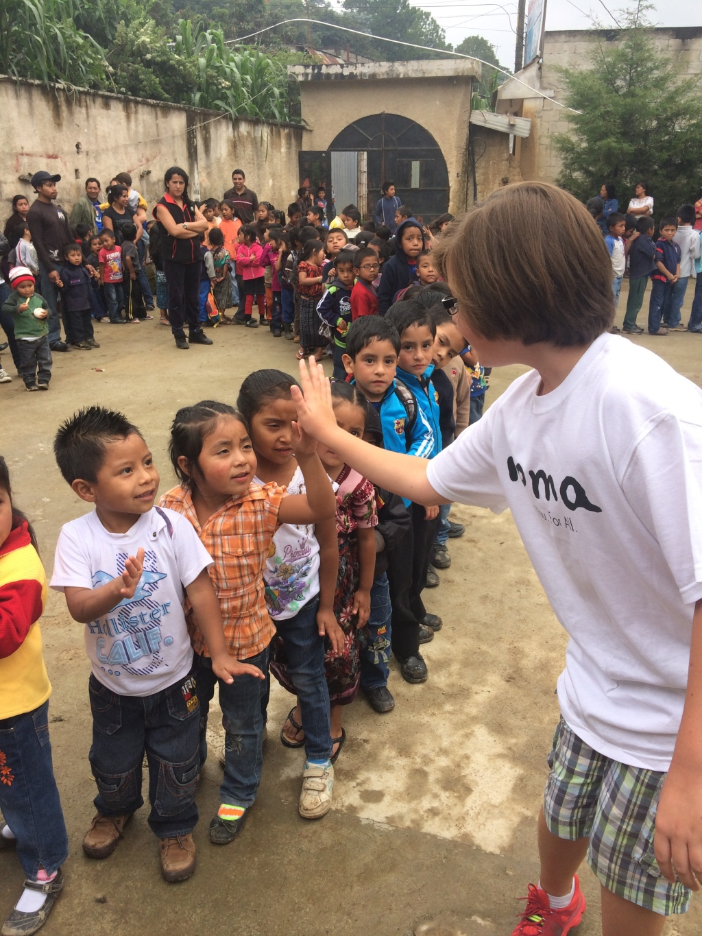 Gabe Eggerling working with Roma Boots in Guatemala (Photo Credit: Gabe Eggerling)