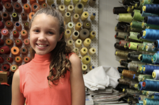 Studio City, CA - August 6th, 2016: GraceRose Bauer gives a tour of her fully-functional, color-coded sample studio in Studio City. She designs and tests clothes at this location, from which they are sent off to be mass-produced at her downtown Los Angeles factory. (Joey Maya Safchik/Los Angeles Times High School Insider)