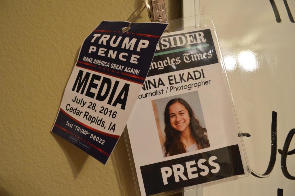press passess