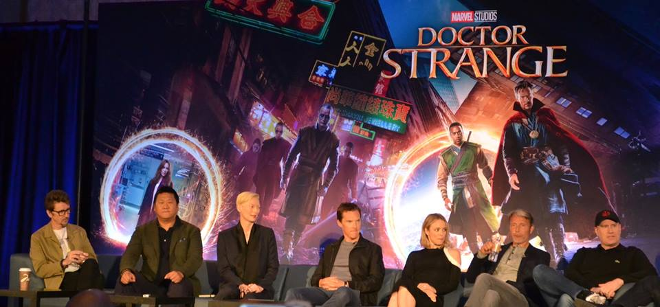 Director, Cast, and Producer of Doctor Strange.