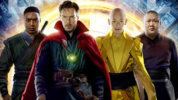 The cast of Doctor Strange.