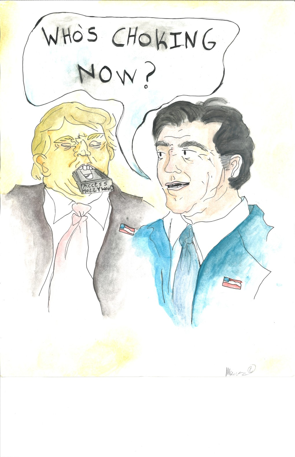 20360207014501 00001 Political cartoon: Mitt Romney gets the last laugh ...