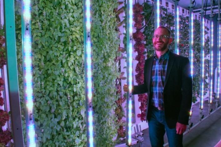 Bright Agrotech CEO Nate Storey, PhD. , Laramie, WY