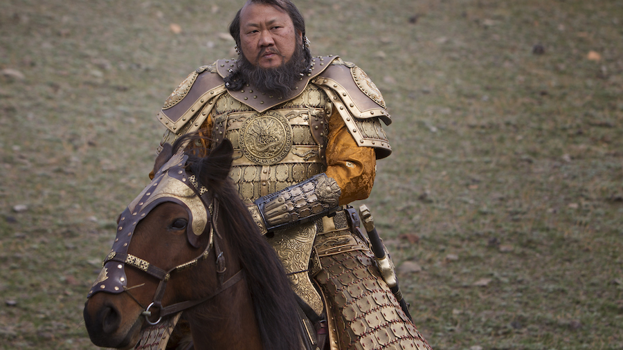 "Benedict Wong in a scene from Netflix's ""Marco Polo."" Photo Credit: Phil Bray for Netflix."
