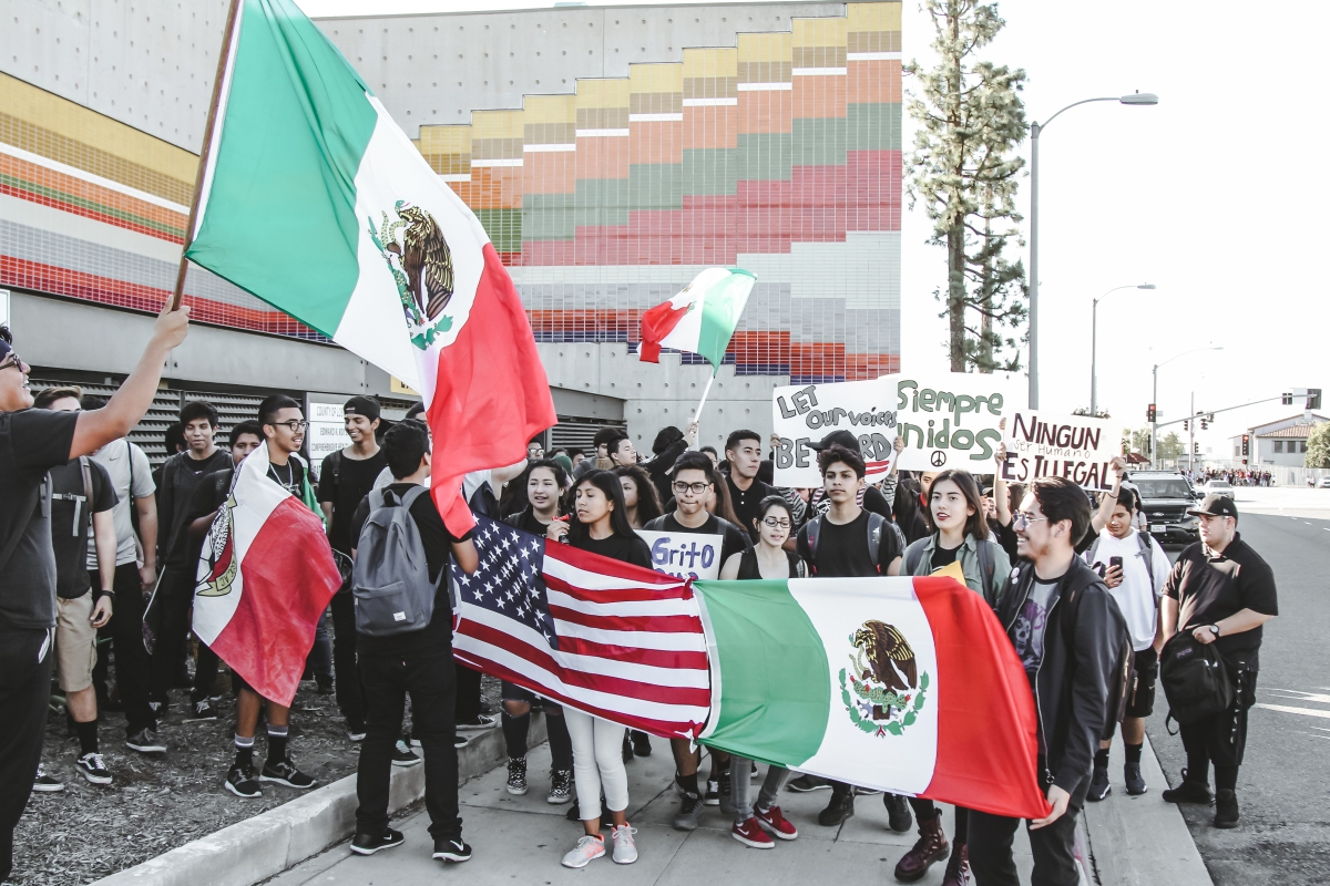 img 39841 East Los Angeles students walk out to call for unity