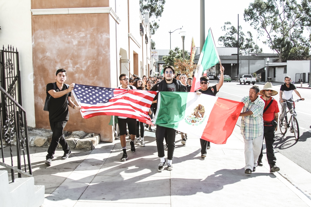 img 40141 East Los Angeles students walk out to call for unity