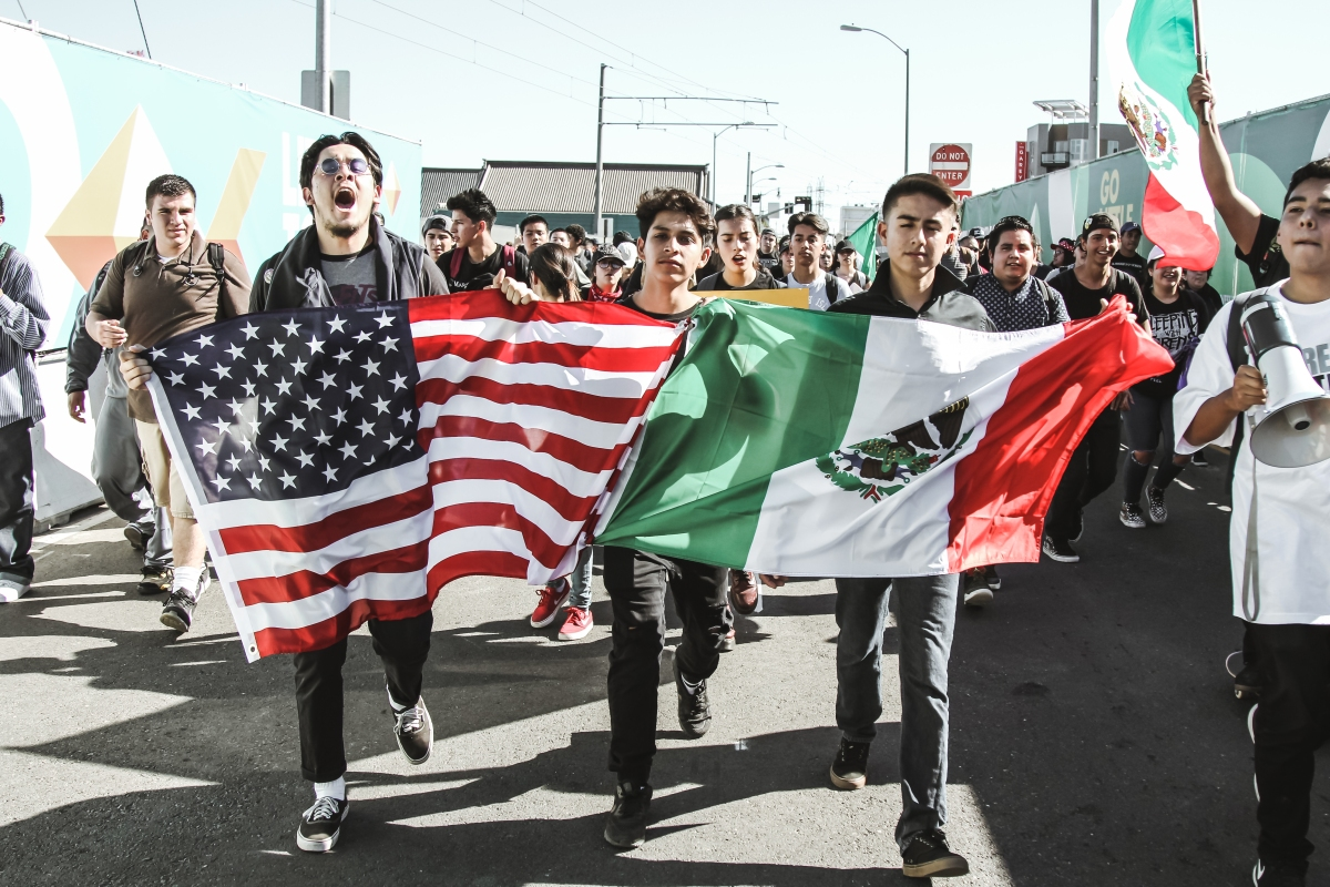 img 40761 East Los Angeles students walk out to call for unity