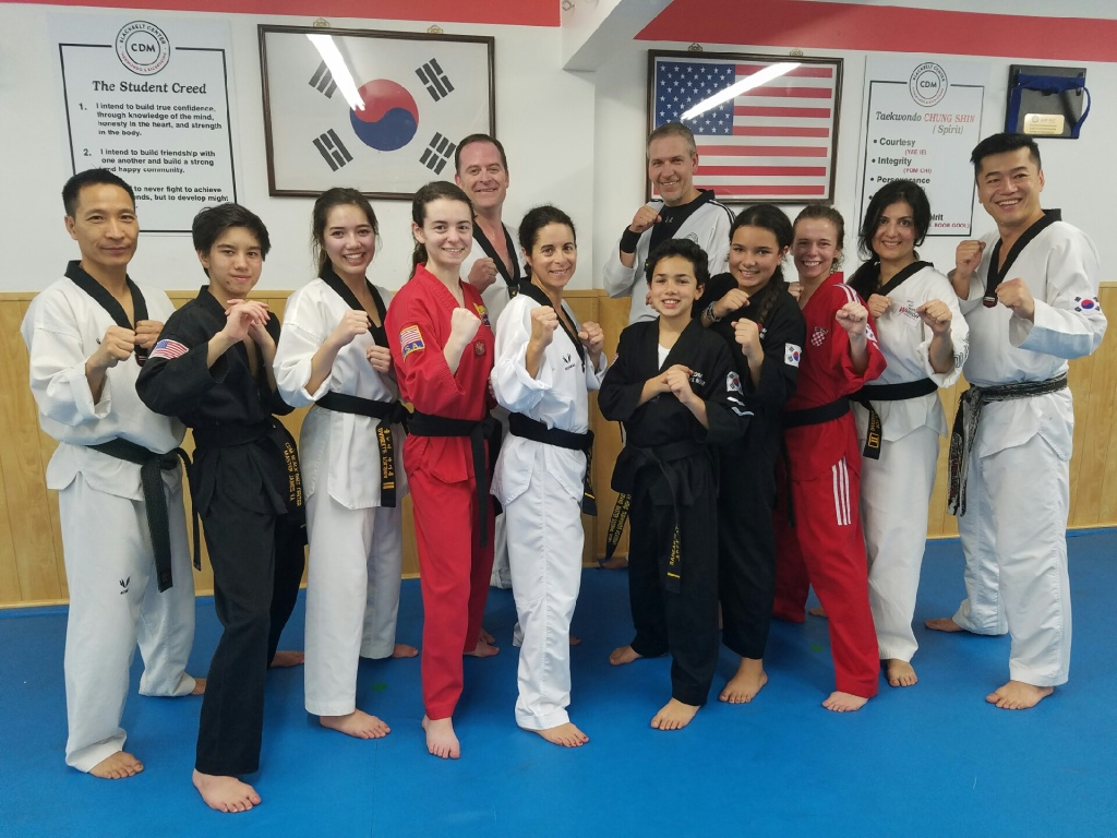 img 8892 Taekwondo competitor Danielle Tolsma teaches skill and integrity at CdM Black Belt Center